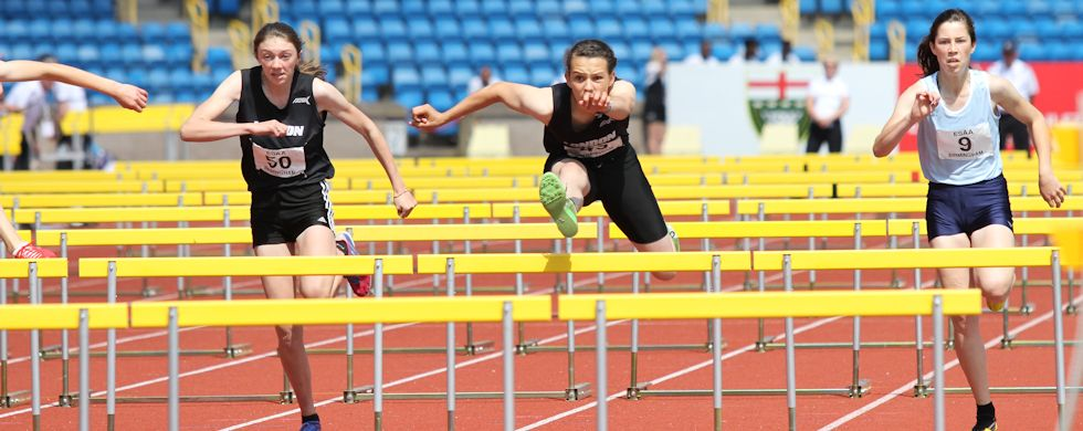 Athletics - Hurdles and Sprinting in Norfolk