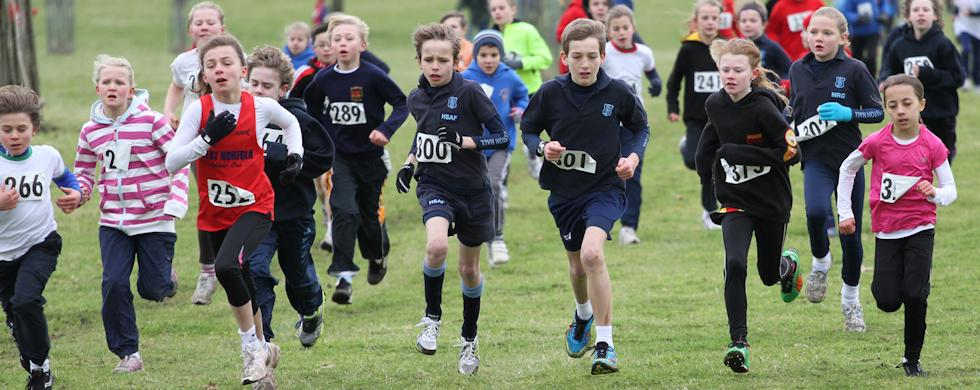 Cross Country - Junior running in Norfolk